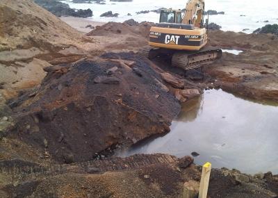 Convocan a movilización ciudadana por contaminación costera